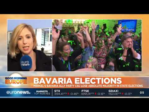 #GME | Merkel's ally party CSU lose absolute majority in Bavarian elections