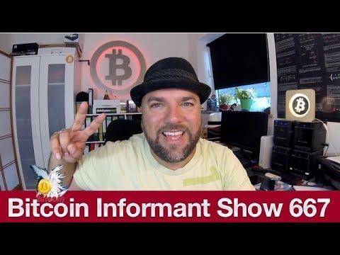 #667 Bakkt Bitcoin Futures, Justin Son verschiebt Lunch mit Warren Buffett & Blockchain Identitätss
