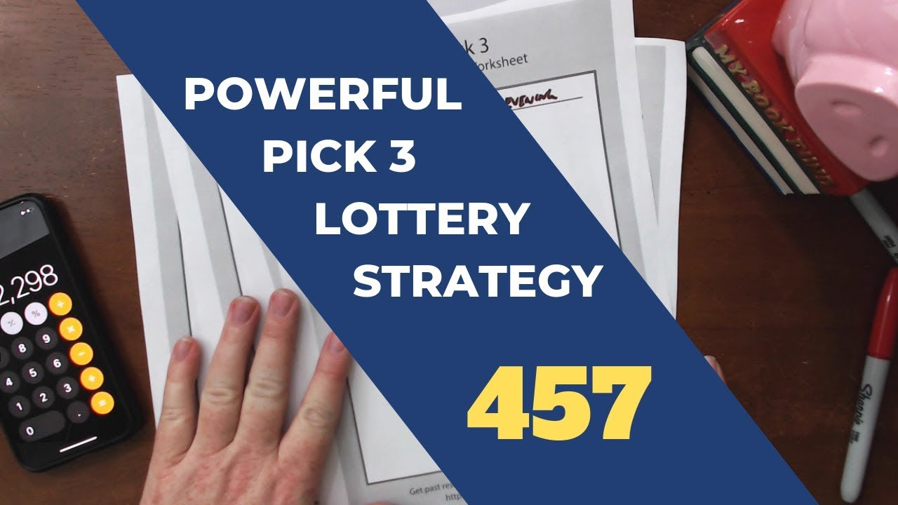 Powerful Pick 3 Lottery Strategy - 457 Prime Number Rundown