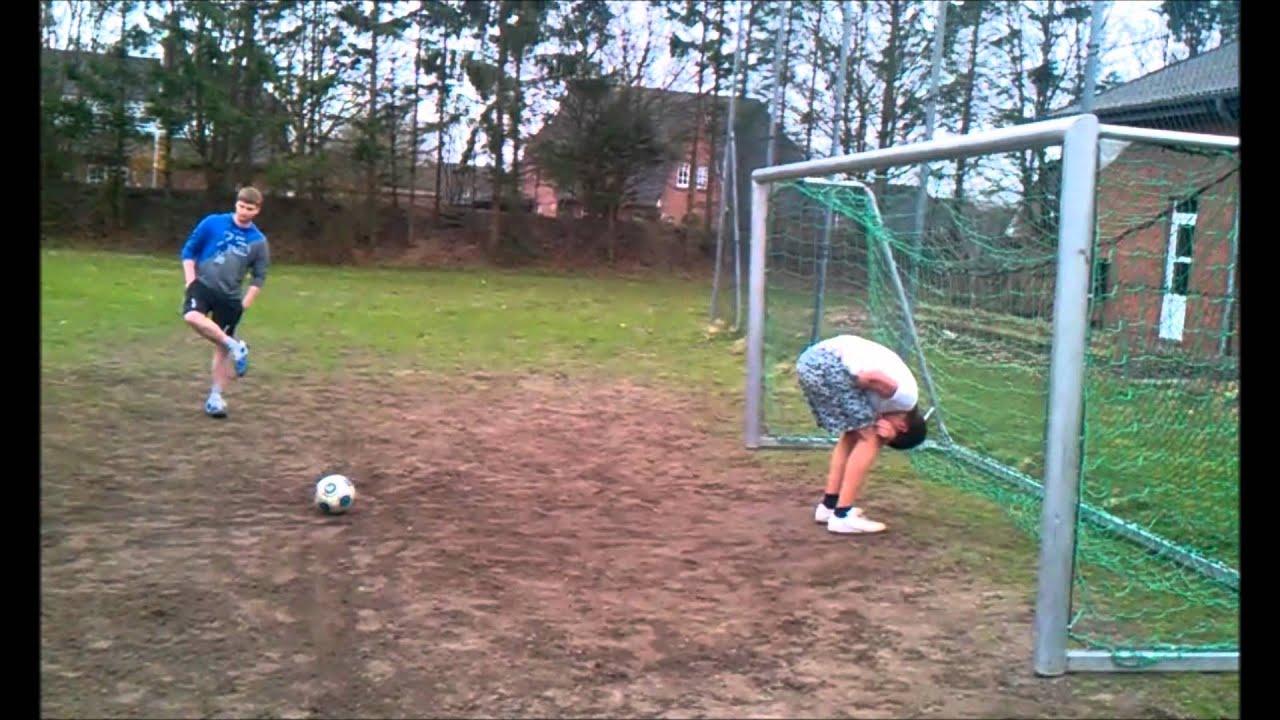 Fußball-Hintern