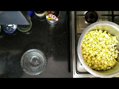 Popcorn Recipe made at home in Hindi | Homemade popcorn in simple steps