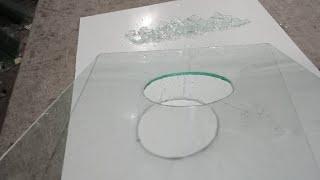 Cara melubangi kaca 5ml dengan manual