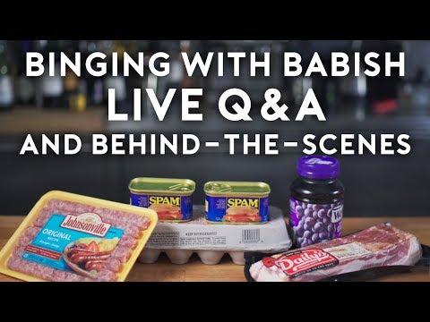 Binging with Babish Live: Q&A and Behind-the-Scenes 🔴