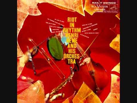 Henri René - Riot in Rhythm (1958)  Full vinyl LP