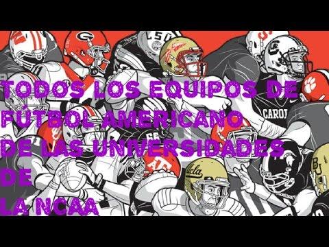 Todos Los Equipos De/College Football USA ( NCAAF#1)