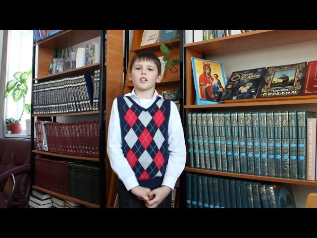 Изображение предпросмотра прочтения – СтепанБолсуновский читает отрывок изпроизведения «Крестьянские дети» Н.А.Некрасова