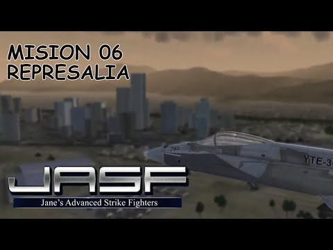 Jane 's Advanced Strike Fighters mision 06 - Represalia  