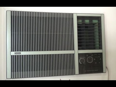 Vintage Carrier International Series Air Conditioner Youtube