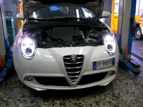 Alfa Mito Con Kit Xenon 6000k Www Euro Car It Youtube
