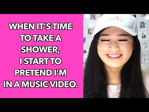 Things People Do In The Shower