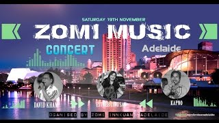 Zomi Music // Concert Live // Adelaide