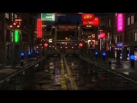Making of night environment 3ds max tutorial part - 3