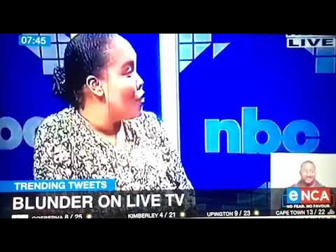 NBC goes 'live' in South Africa