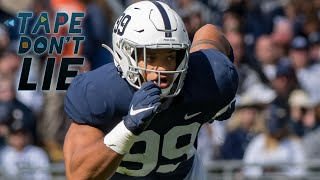 Why New Panthers DE Yetur Gross-Matos Will Have Success in the NFL   Stadium