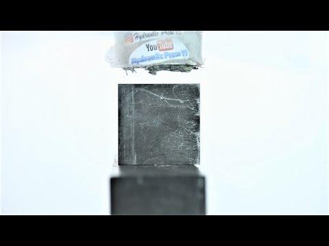 Graphite vs Hydraulic Press - Can you make diamonds from carbon?