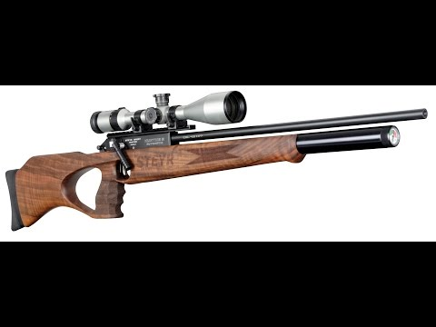 Air Rifle Steyr Hunting 5 Automatic - 50 Shots Rapid Fire (English)