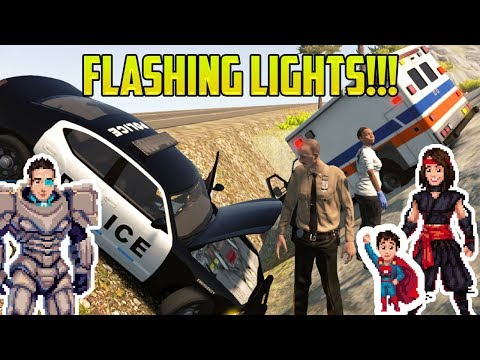 Cars for Kids | FLASHING LIGHTS! Police Cars, Fire Trucks, and Ambulances?! |