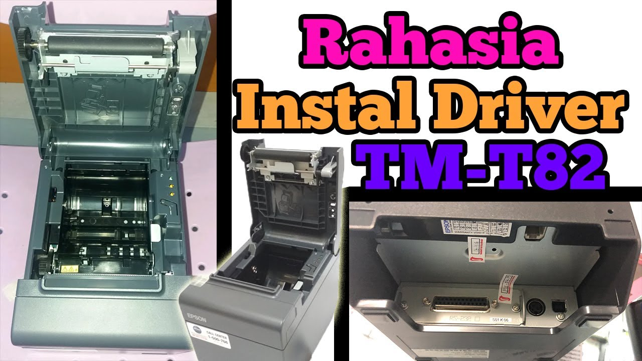 Epson Tm T82 Tmt82 Cara Instal Driver Printer Youtube