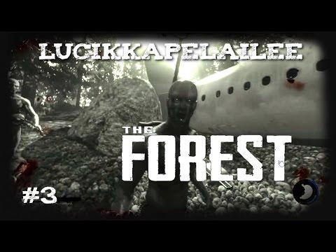 The Forest - 3 - Tutkimme metsää ja laitamme mökin aluille!