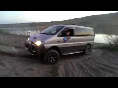 Hyundai Starex 4X4 и песчаный подьем