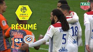 Olympique Lyonnais - Montpellier Hérault SC ( 3-2 ) - Résumé - (OL - MHSC) / 2018-19