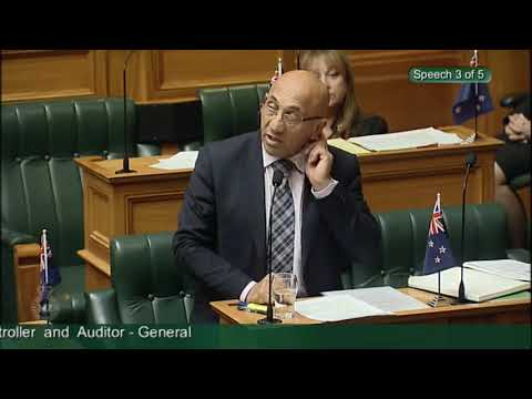 Government motion on notice No 1 - Appointment of Controller and Auditor-General - Video 3