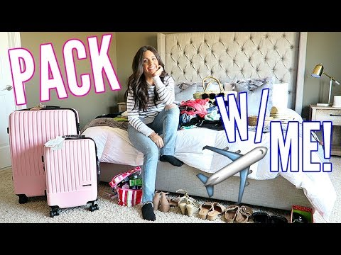 PACK WITH ME! FOR MY BEACH VACATION!