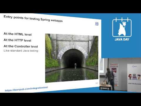 JavaDay Kiev 2014: Integration Testing from the Trenches