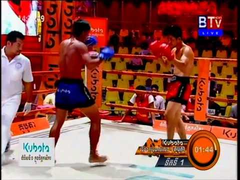 Khmer Boxing BTV 22/Feb/2015 / BTV Boxing 22/Feb/2015
