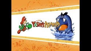 Super Mario World 2: Yoshi's Island - World 1 - Parte 1 - Gameplay en Español