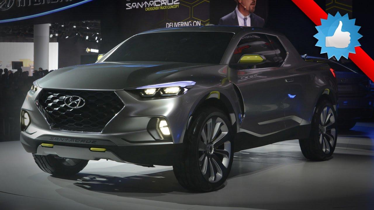 2016 Hyundai Santa Cruz Concept: Detroit 2015 - YouTube