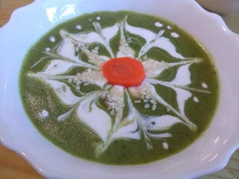 Как украсить суп пюре