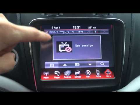 2015 Fiat Freemont And Dodge Journey Navigation Interface