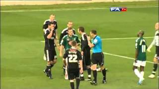 Plymouth 0-4 Swindon - The FA Cup 1st Round - 06/11/10