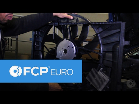Mercedes-Benz Cooling Fan Replacement - Keep Your Engine Running Cool (CLK, C300, SLK, )