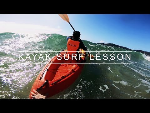 Fishing Kayak Surf Lesson With Adam And Jasmine