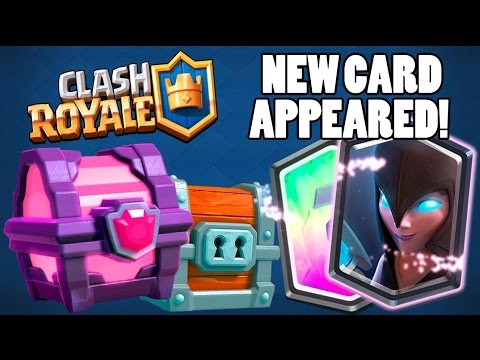 NEW LEGENDARY APPEARED ''NIGHT WITCH'' CARD :: Clash Royale :: OPENING ALL MY RARE CHESTS!
