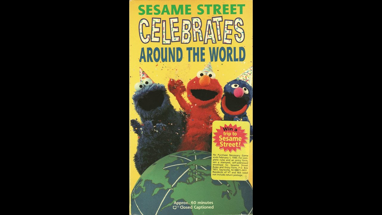 Closing To Sesame Street Celebrates Around The World 1994 ...