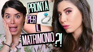 CHE ANSIAAAA! PRONTA PER IL MATRIMONIO?! MAKEUP + OUTFIT  👰⏰😱 | Adriana Spink