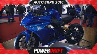 Emflux One @ Auto Expo 2018 : PowerDrift