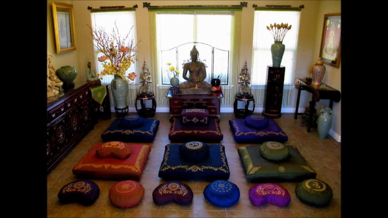 Meditation Cushions | Meditation Benches | Boon Decor - YouTube