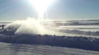 Ледовый спринт дрифт, озеро Балтым.  зима 2014 Екатеринбург
