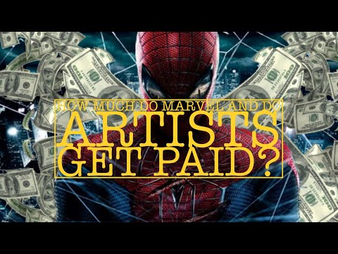 THE TRUTH: HOW MUCH DO MARVEL AND DC ARTISTS GET PAID?