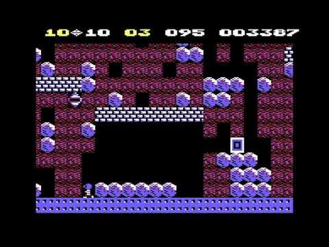 V-12 Playz: Boulder Dash (TM) [C64] - New World Record!