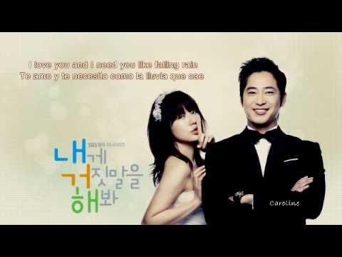 Lie to me~ Walking on a cloud *Cho Hyun Chan* |SubEspañol-Hangul-Romanization|