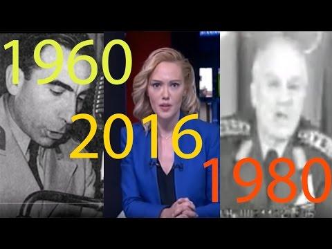 1960-1980-2016 Tüm Darbe Bildirileri - VİDEO