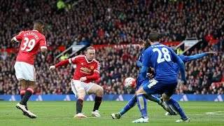 Manchester United 1-1 Leicester City | Goals; Martial, Morgan | Premier League REVIEW