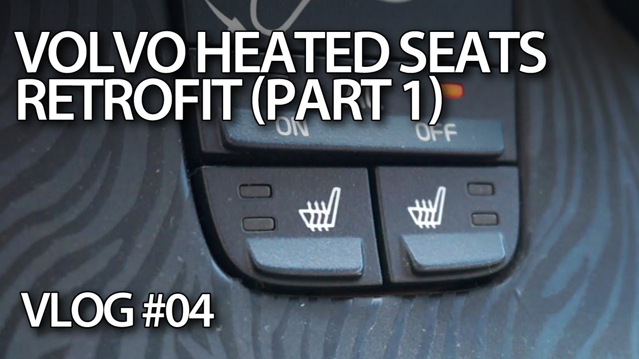 vlog retrofitting heated seats in volvo c30 s40 v50 c70 part1 [ 1280 x 720 Pixel ]
