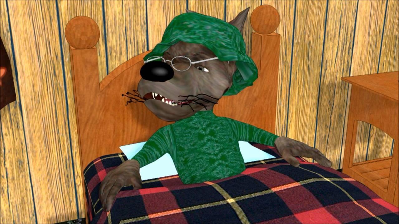 Verwonderend Roodkapje en de Boze wolf - YouTube SP-11