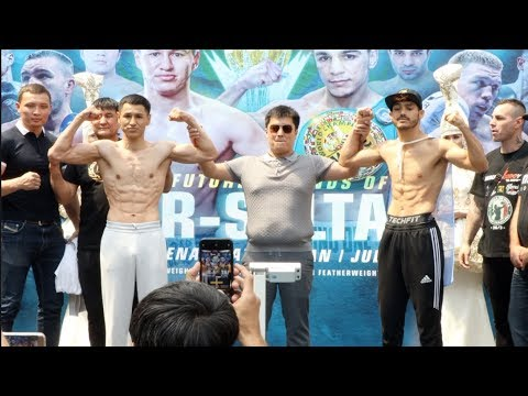 THE FUTURE LEGENDS OF NUR-SULTAN! - THE COMPLETE WEIGH-IN FROM ASTANA, KAZAKHSTAN / MTK / ROUND 10